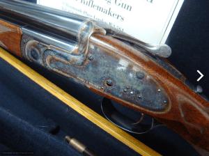 Symes & Wright, London, Best Quality 20 bore Sidelock Purdey-style OU Shotgun