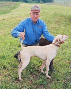 Ferrell Miller and CH Miller's Happy Jack, from http://www.phantomkennels.com/