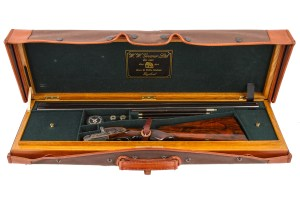 W.W. GREENER PREMIER SIDELOCK SXS DOUBLE BARREL 16 GAUGE SHOTGUN