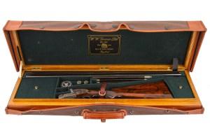 W.W. GREENER PREMIER SIDELOCK SXS DOUBLE BARREL 16 GAUGE SHOTGUN