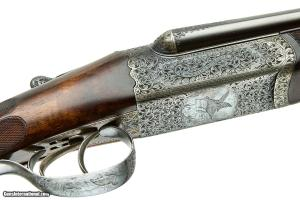 WESTLEY RICHARDS .410 DROPLOCK SxS SHOTGUN