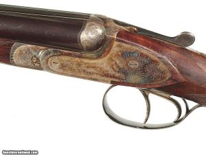 "FRANCOTTE MODEL ""20E"" DOUBLE 20 GAUGE SHOTGUN RETAILED BY ABERCROMBIE & FITCH"