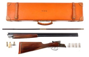 Cased 20 gauge Merkel 200E Over-Under Shotgun