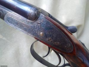 """Alexander Henry .303 """"Duke of Atholl"""" best quality sidelock ejector double rifle"""
