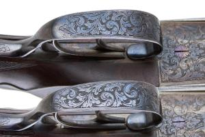 """James Purdey & Sons, pair of 12 gauge sidelock SxS shotguns with """"Extra Finish"""""""