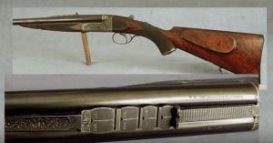 Stunning Westley Richards Droplock Double Rifle, 300 Sherwood, Treasure Grade
