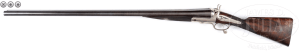 Big & beautiful. E. M. Reilly 4 gauge SxS Double Barrel Hammer Shotgun
