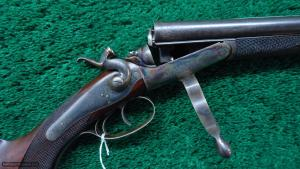 JOSEPH LANG & SONS .360 BPE HAMMER DOUBLE RIFLE