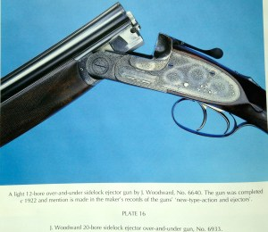 Second pattern Woodward OU, from Boothroyd's book The British Over & Under Shotgun