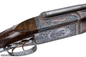 WESTLEY RICHARDS BEST DROPLOCK SXS RIFLE 600 NITRO