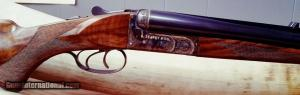 B. Searcy & Co. Classic Model 500 Nitro Express SxS Double Rifle