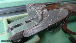 William Evans (from Purdey) Sidelock SXS Shotgun in 12 ga