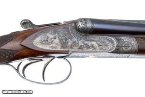FRANCOTTE ABERCROMBIE & FITCH EAGLE GRADE SXS DOUBLE RIFLE .22 WRF