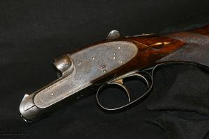 "JAMES PURDEY & SONS SIDELOCK EJECTOR DOUBLE RIFLE, .400 3"":"