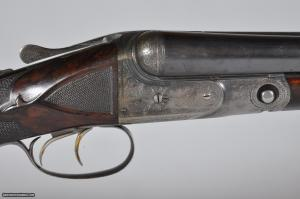 "Parker BHE 12 Gauge SxS Shotgun, 30"" Barrels Pistol Grip Stock Splinter Forearm"