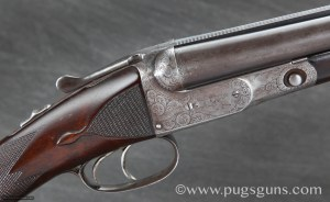Parker DHE 20 gauge SxS Shotgun, Straight Stock