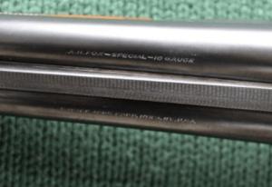 A.H. Fox SP (Special) Grade 16 gauge SxS Shotgun