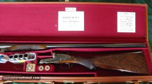 "Boss & Co. Heavy 3"" Proof Side-by-Side Pigeon Gun"