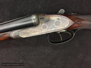 N. Guyot 12 Gauge SxS Sidelock Ejector Double Barrel Shotgun