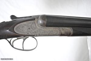 "FRANCOTTE 20E IN 12 GAUGE - 28"" BARRELS - EJECTORS - FLORAL ENGRAVED FENCES"