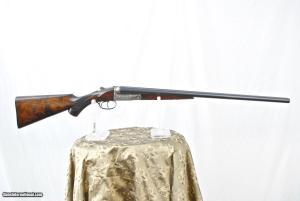 Rare Parker VHE 12-gauge SxS shotgun on a 1/2 frame