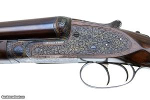 JAMES PURDEY & SON BEST EXTRA FINISH SXS 12 GAUGE SIDELOCKJAMES PURDEY & SON BEST EXTRA FINISH SXS 12 GAUGE SIDELOCK