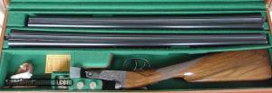 Parker Reproduction DHE SxS 28 Gauge 2 Bbl. Set Cased, Double Triggers