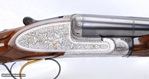 Beretta 450 sidelock side-by-side 12 gauge Live Pigeon gun: