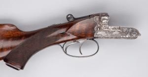 Merkel Model 132 Pre-WW2 Side-by-Side Double Rifle, 8 x 57 JR
