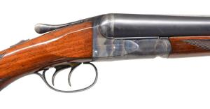 Lot #1084: 12G SAVAGE FOX STERLINGWORTH WILDFOWL SXS SHOTGUN, coming up at PoulinAuctions.com on 10/20/18