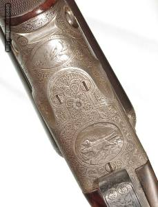 PARKER BROS. AHE DOUBLE-BARREL SXS SHOTGUN
