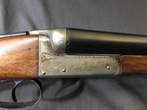 W. H. POLLARD 16GA Side-by-Side Double Barrel Shotgun: