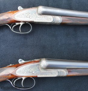 Williams Evans 12 Gauge Sidelock Ejector SxS Matched Pair