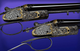 Phil Coggan's work on a pair of Boss & Co SxS shotguns. Pic courtesy of Phil Coggan.