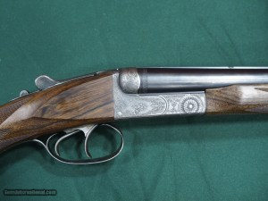 Ed Kettner 24 gauge boxlock SxS shotgun
