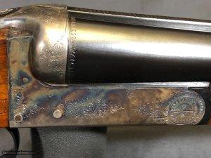 A. JOS. DEFOURNEY 16GA SxS Boxlock shotgun