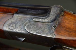 """Miller & Val. Greiss 20 Gauge O/U Trap Gun with 34"""" Bohler Special Steel Barrels"""
