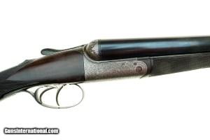 "Dickson Patent Round Action 12 Gauge Side-by-Side Shotgun - 28"" Barrels:"