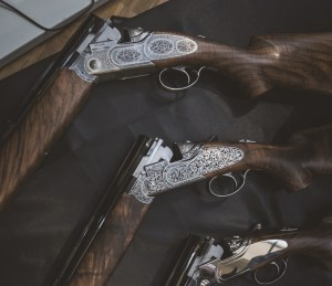 Beretta's new SL3 OU, different engraving patterns