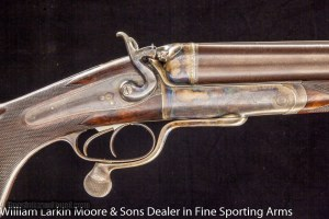 HOLLAND & HOLLAND 8 BORE HAMMER EXPRESS DOUBLE RIFLE