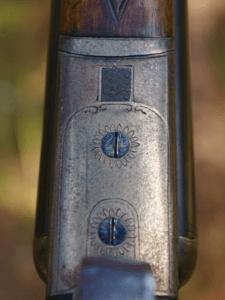 French 16ga SxS Boxlock Chukar Gun 5lbs 11oz