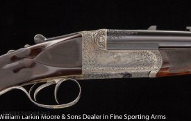WESTLEY RICHARDS Deluxe Droplock Express .318 Accelerated Express Cased Mfg 1913 Outstanding condition