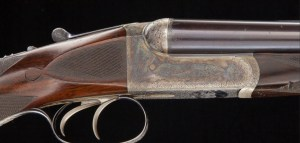 .577 Nitro Express WESTLEY RICHARDS Deluxe Droplock Ejector, Mfg 1903,