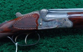 BEAUTIFUL GERMAN MADE 410 OVER AND UNDER SHOTGUN MADE BY GERBRUDER ADAMY