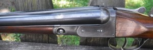 """PARKER BROS. 20 GAUGE VH - 26"""" BARRELS CHOKED FULL/FULL - STRAIGHT STOCK - DOUBLE TRIGGERS- SPLINTER FOREND -DOGS HEAD BUTT -CASE COLORS 45%"""
