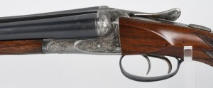 ANSLEY FOX 20 BORE ENGRAVED SXS SHOTGUN