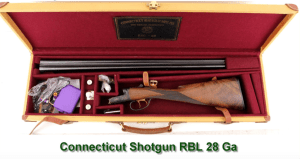 Connecticut Shotgun RBL 28 Ga in case for sale