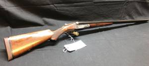 "PARKER BROS MODEL VHE, 20 GA, SIDE BY SIDE, 26"" BARREL, MADE IN 1913 WITH LETTER, SN-160945"