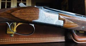 "Browning Pigeon Superlight - 28ga/.410ga 3"" - 6 lbs 5 ozs - 14 3/8"" x 1 3/8"" x 2 1/4"" - SN: 1753F7 - Maker's Case - Remarkable Condition - Rare!!"