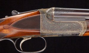 WESTLEY RICHARDS Deluxe Droplock Ejector Express .405 win Mfg 1907 and still like new